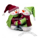 Merry Meltons Musical Plush Dancing Snowmen