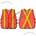 Mesh Fabric Reflective Safety Vest