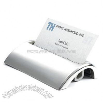 Metal / Aluminium Desktop Business Card Holder