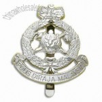 Metal Badges in Police and Military Medals