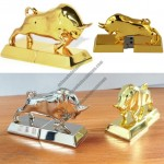 Metal Bull Shape USB Flash Drive