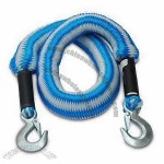 Metal Clip Hooks Elasticized Towing Rope 2500kg