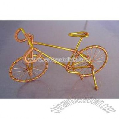 Metal Craft - Mini Copper Bicycle