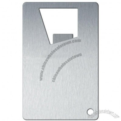 Metal Credit Card Bottle Opener