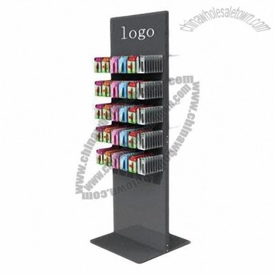 Metal Display Stand with Hooks