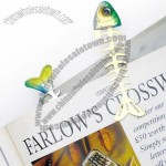 Metal Fish Shaped Bookmark