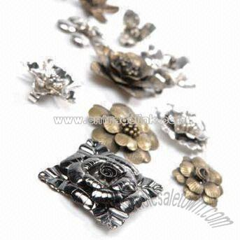 Flower Wholesale on Metal Flower Brooches Suppliers  China Metal Flower Brooches
