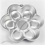 Metal Flower Shaped Cake Mould