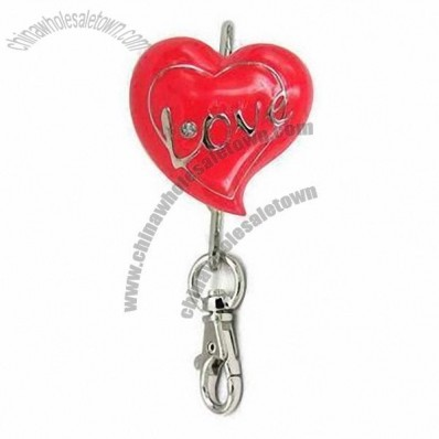 Metal Heart Love Key Finder