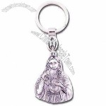 Metal Holy Family Keychain