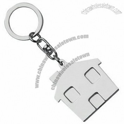 Metal House Keyring