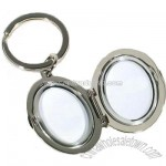 Metal Keychain Mirror