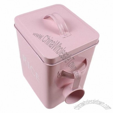 Metal Laundry Powder Tin Box