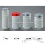Metal Lid Plastic Bottle