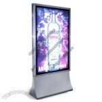 Metal Outdoor Scrolling Light Box