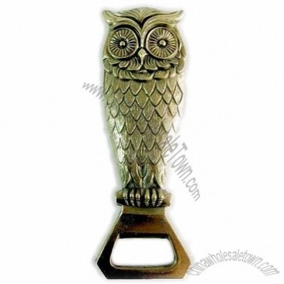 Metal Owl Bottle Opener