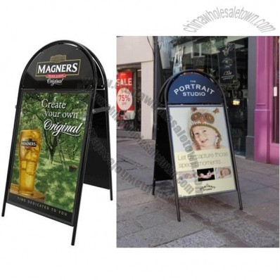 Metal Poster Holder A-boards