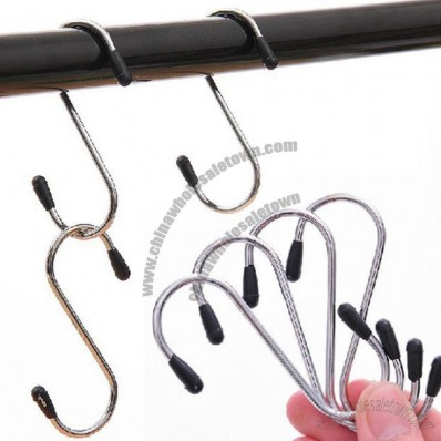 Metal S-shaped hook