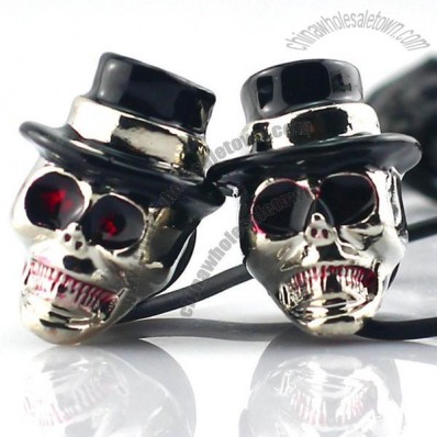Metal Skull Earphone