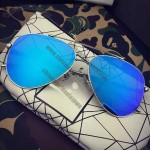Metal Stainless Sunglasses with Polarized Mirror Lens