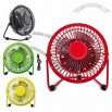 Metal USB Electric Cooling Table Fan for computer