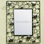 Metal Wall Mounted Mirror