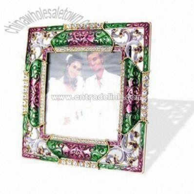 Metal Wedding Photo Frame