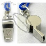 Metal Whistle with Lanyard