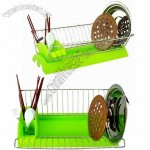 Metal and Plasitc Dish Racks