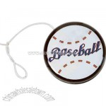 Metal baseball yo-yo