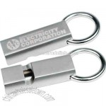 Metal whistle key holder