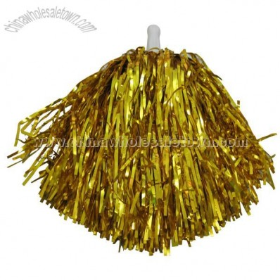 Metallic Color Cheerleading Pom Pom