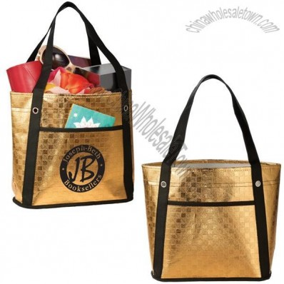 Metallic Mini Gift Tote Bag