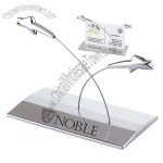 Meteor Star Business Card Holder