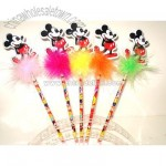 Mickey Mouse Feather Pen