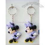 Mickey Rubber Key Ring
