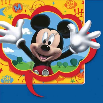 Mickey's Clubhouse Luncheon Napkins