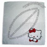 Microfiber Cloth with Multi-color Silk Printing