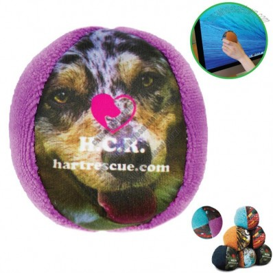 Microfiber Screen Cleaner & Stress Ball