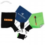 Microfiber Towel With Neoprene Pouch