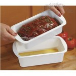 Microwave Meatloaf Pan