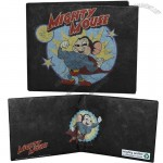 Mighty Mouse Save The Day Logo Tyvek Mighty Wallet