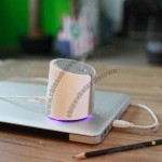 Mini Air Fog Humidifier with LED Light, Powered by USB