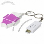 Mini Bluetooth Mobile Phone Anti-Lost Alarm with Keychain