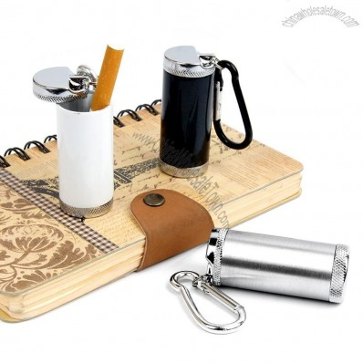 Mini Canister Ashtray with Carabiner