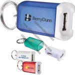 Mini Car Charger With Key Ring