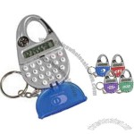 Mini Carabiner Calculator Keychain with Compass