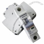 Mini Circuit Breaker with 1 to 63A Rated Current and 230 to 400V Rated Voltage