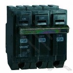 Mini Circuit Breaker with 230 to 400V AC Rated Voltage and 50/60Hz Frequency