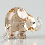 Mini Elephant Glass Figurine
